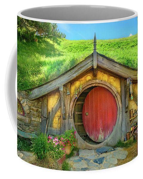 Hobbiton Coffee Mug featuring the photograph Hobbit House by Racheal Christian