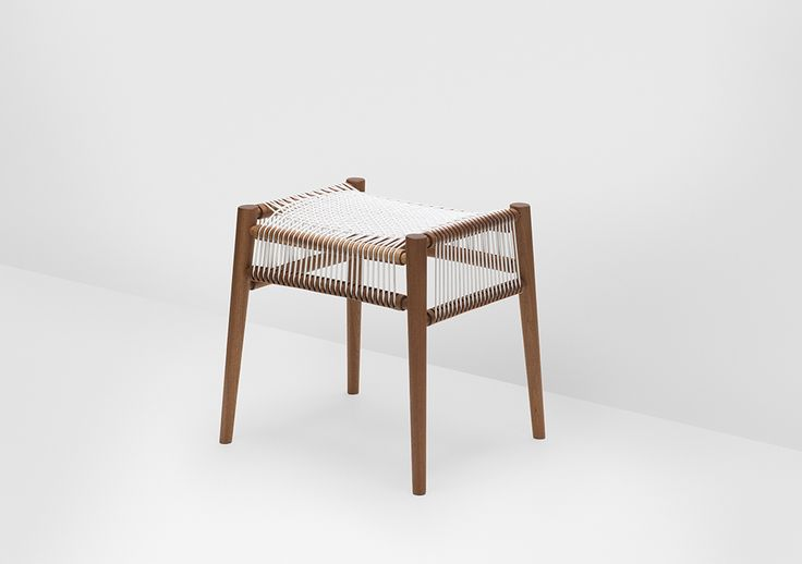 Loom Stool from our Loom Collection http://www.hfurniture.co/product_collection/loom-collection/