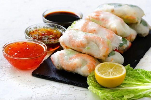 Zesty Shrimp Spring Rolls | The Perfect Springtime Snack | Fresh and Healthy Homemade Recipe
