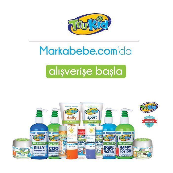 TRUKİD ürünleri şimdi Markabebe.com'da  #trukid #bebekbakımı #bebekbakımürünleri #bebekşampuan #bebekgüneşkremi #bebekgüneşkoruma #babyshampoo #babybodywash #babybodywashnshampoo
