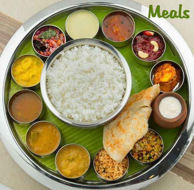 meals chennai famous food item