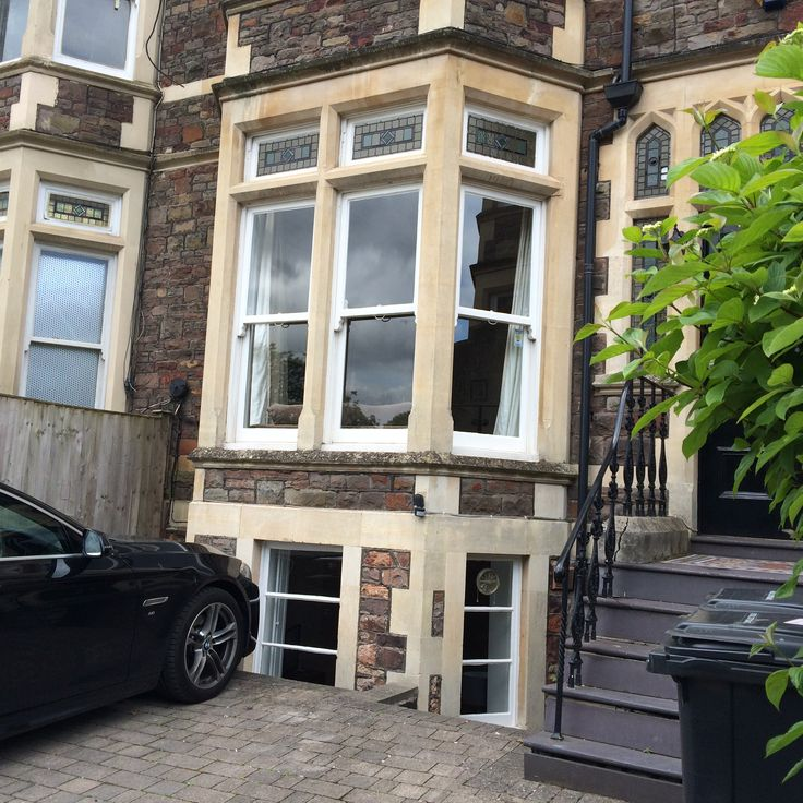 Victorian Basement: Basement In Victorian Terrace, With Light Well Dug Out