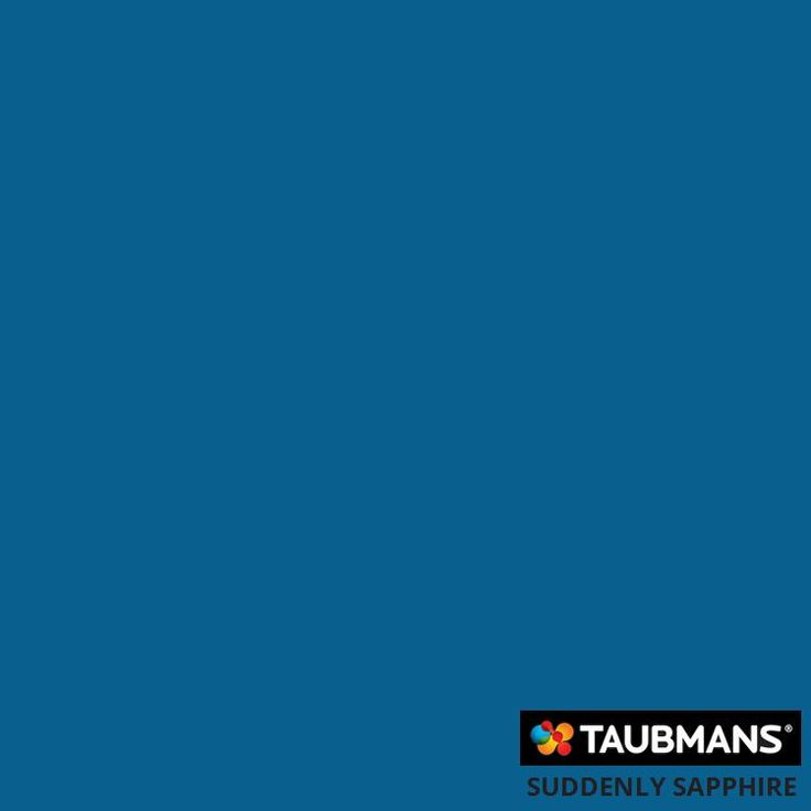 "Taubmans colour ""Suddenly Sapphire"". Love."