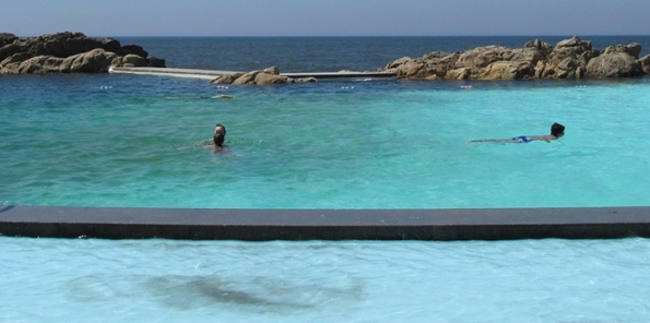 Siza Vieira, Leça da Palmeira, Portugal - A natural pool