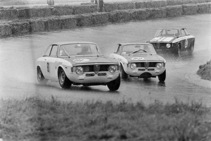 ZANDVOORT-TROPHY OF THE DUNES Wim Loos Rob Slotemaker Toine Hezemans Alfa Romeo