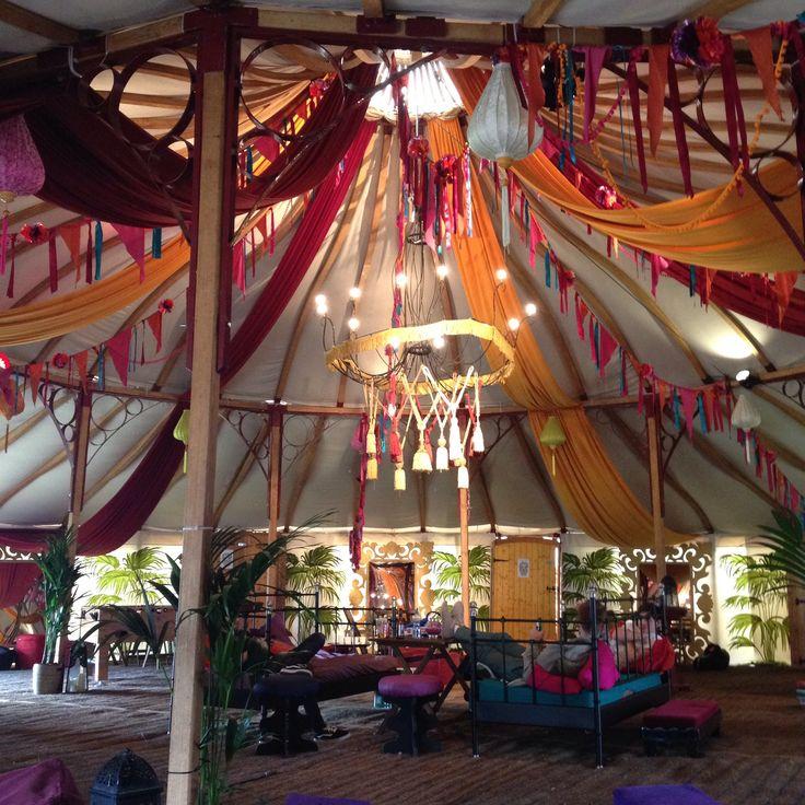 Electric picnic festival VIP tent