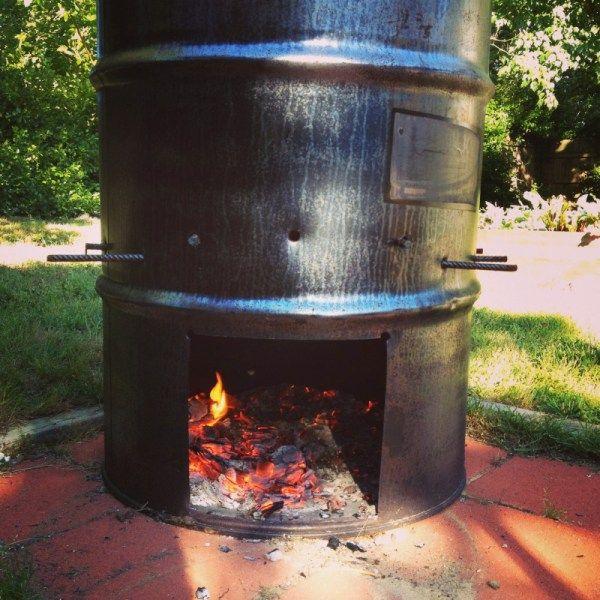 22 Unique DIY Burn Barrel Design Ideas for Decoration ...