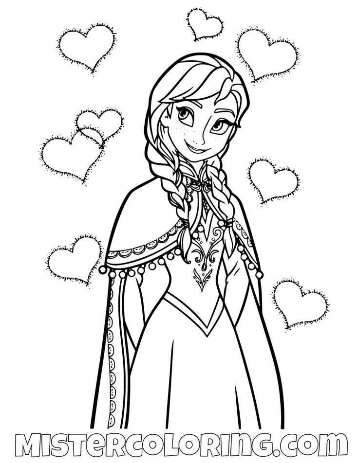 frozen 2 coloring pages for kids — mister coloring