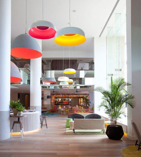 Nic Graham & Associates have designed the interior of the QT Hotel Gold Coast located in Queensland, Australia.
