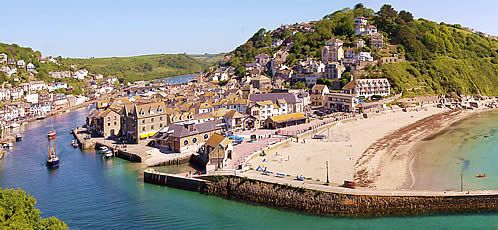 Looe, Cornwall. The only place I feel comfortable other than home, huge seagulls though!