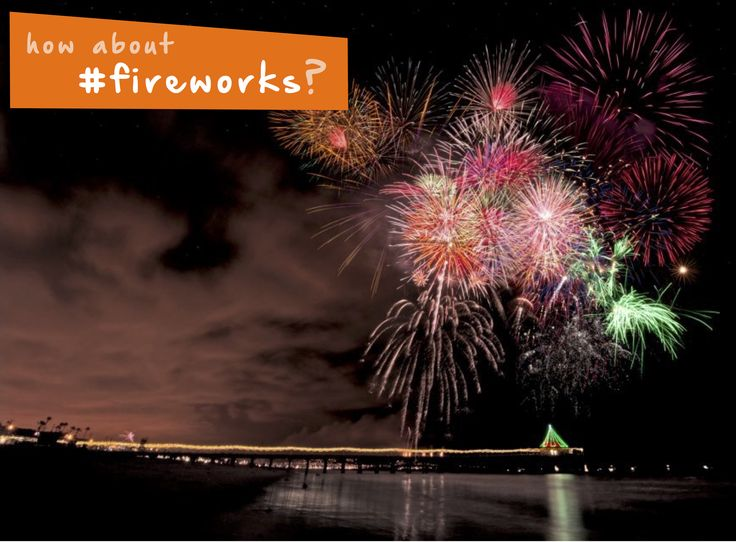 Watch awesome #fireworks at the #beach this #summer! #familyfun #thingstodo #kidsactivities