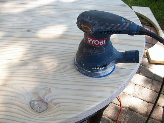make a cheap solid replacement table top out of inexpensive lumber.
