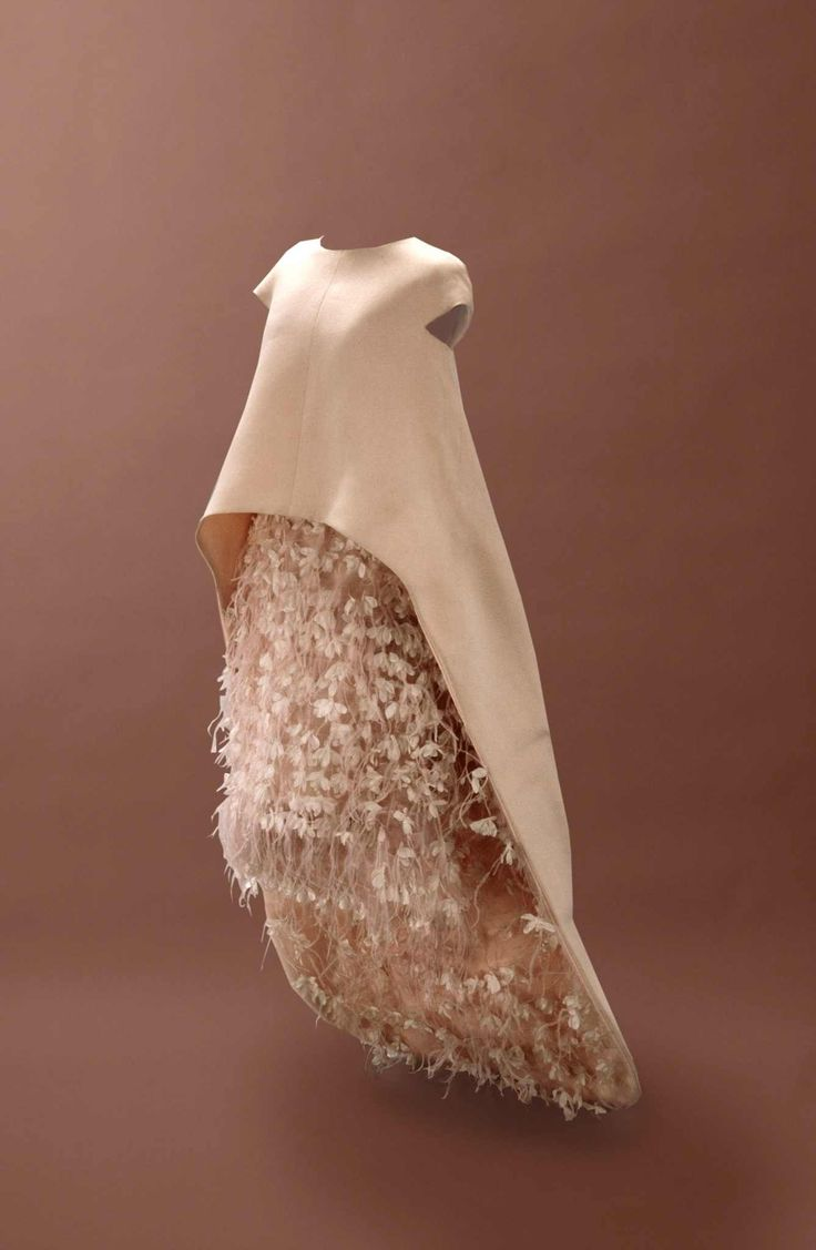 Robe de mariée second mariage Cristóbal Balenciaga Couture FW 1967/1968