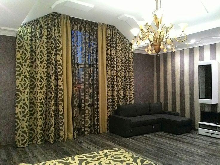 Пошив штор на заказ в Краснодаре. Шторы. Спальня. Комната. Дизайн. Дом. Уют и красота. Окно. Оформление. Текстиль. Ткани для дома. Ткань для штор. Тюль. Портьеры. Защита от солнца