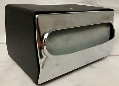 "Vintage ""Fort James: Mini-Mornap"" Restaurant Style Industrial Napkin Dispenser"