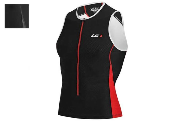 Louis Garneau Pro Tri Jersey. Also available in black and white.
