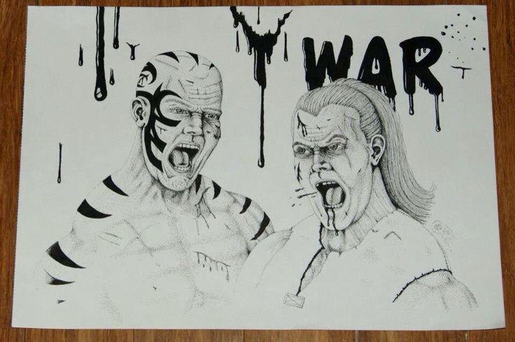 WARRIORS TWO - WAR!
