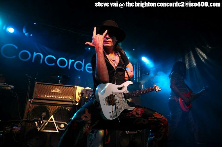 Steve Vai LIVE at Concorde2 on Thursday 5th September 2013. Copyright: Mike Burnell - All use to be agreed in writing first.