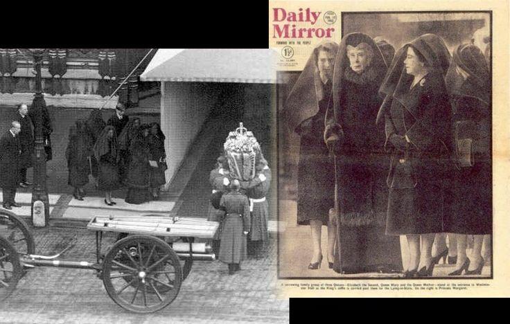 King George VI funeral