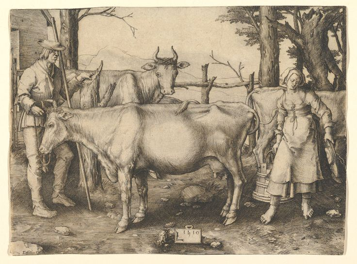 Extrêmement 60 best Art. Animals -- Cows / Cattle / Oxen images on Pinterest  EU28