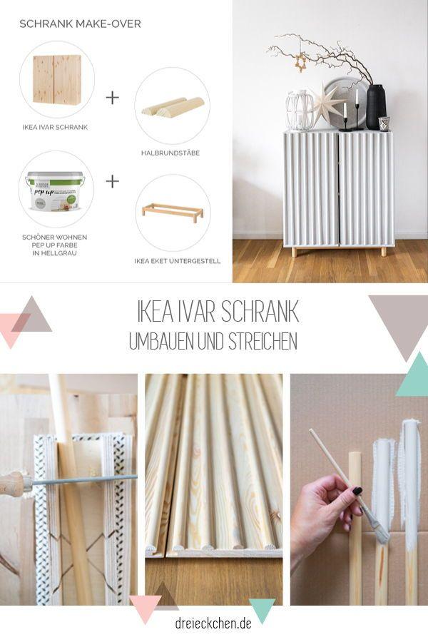 Mobel Streichen Mit Den Schoner Wohnen Pep Up Farben Moebel Streichen Schrank Umgestalten Und Ikea Ivar