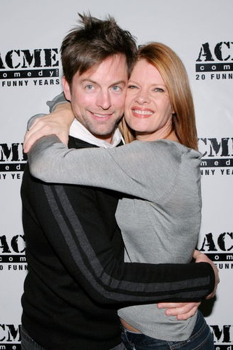 Aww :) Adam and Phyllis...would totally never hug each other in the show.