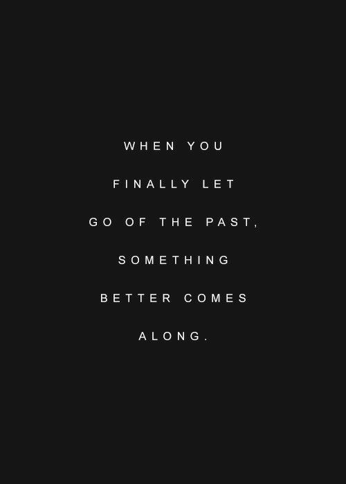 …something better comes along