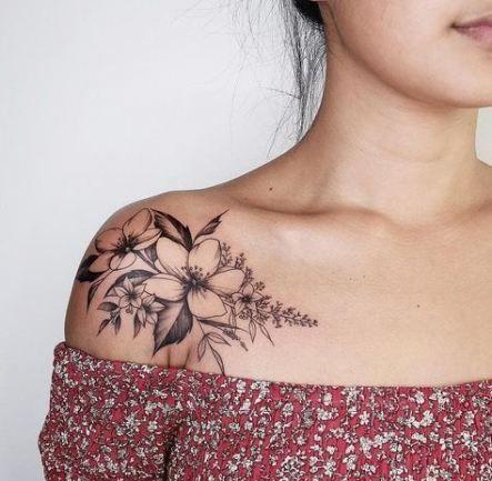 54 Trendy Tattoo Back Shoulder Flower – Flower tattoos