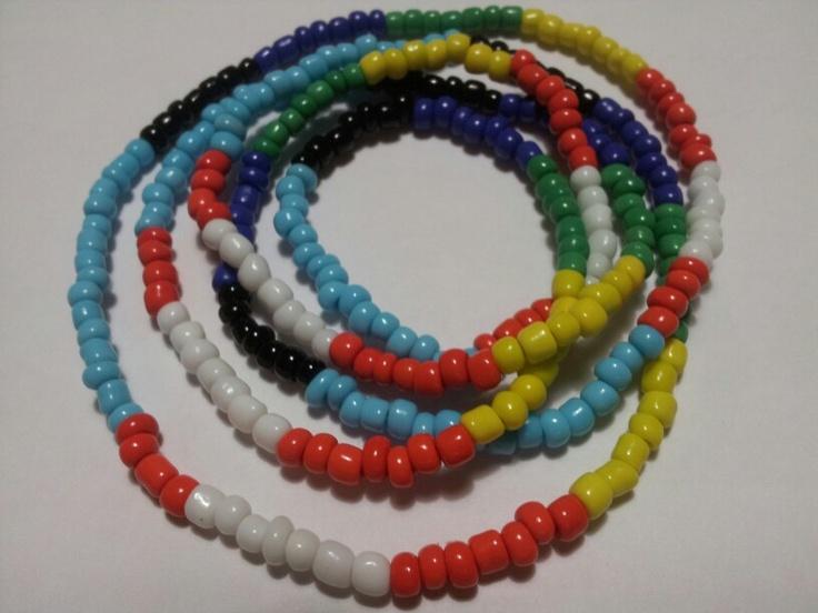 Oshumare Eleke, Santeria Necklaces, Orishas