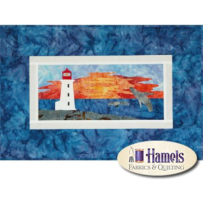 Nova Scotia Wall Hanging - Canadian Mystery Quilt Project by Shania Sunga