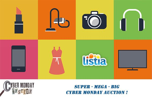 SUPER-MEGA-BIG Cyber Monday Auction!