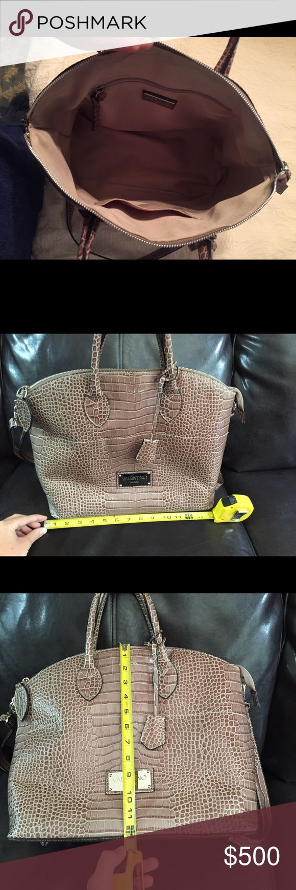 Valentino purse new without tags ONE DAY SALE ONLY 100% authentic, Perfect condition, never used. From Neiman Marcus. Originally over $1,000. Let me know if you have any questions! I will also include the dust bag :). Thanks! Valentino Bags Shoulder Bags