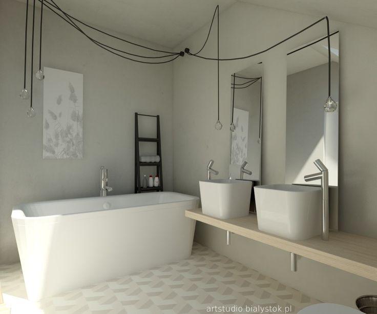 Zdjęcie: Łazienka styl Minimalistyczny - Łazienka - Styl Minimalistyczny - Art Studio Pracownia Architektury i Wnetrz