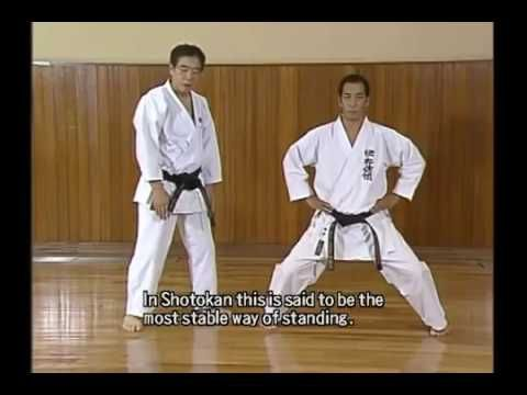 MACAM - MACAM SENI BELA DIRI: Video: Karate Shotokan: Tutorial 1