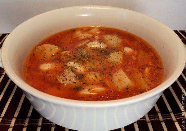 Суп из белой фасоли / Рецепты с фото