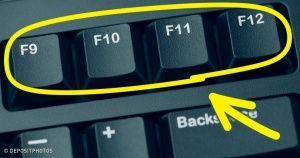 Voici à quoi servent les lettres F de ton clavier