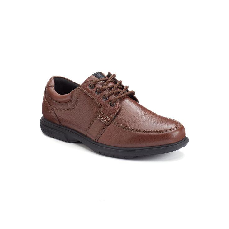 Nunn Bush Carlin Men's Moc-Toe Shoes, Size: 9 Wide, Brown, Durable