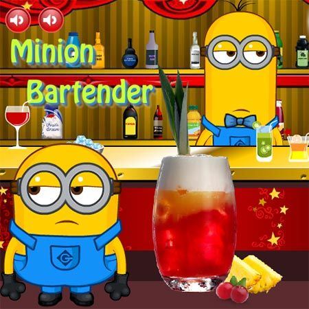 minion bartender is a free games for girls here you can play this game online