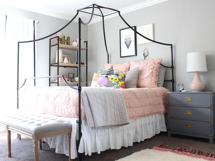 Best 25+ Teen canopy bed ideas on Pinterest | Dorm bed ...