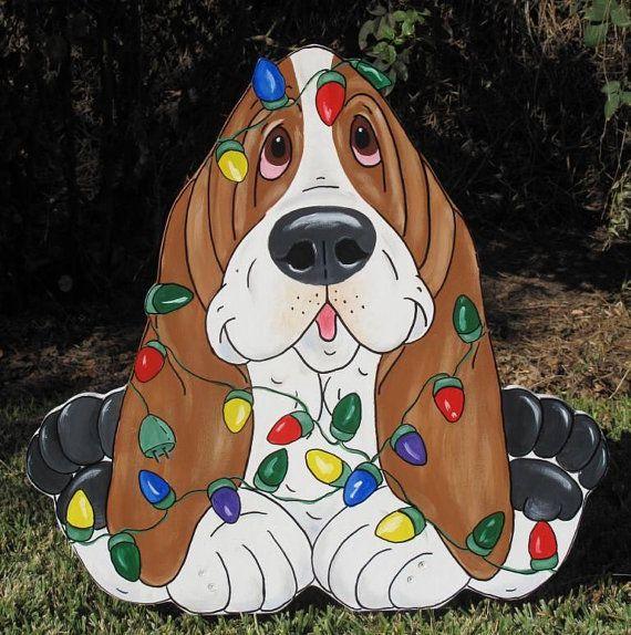 Basset Hound Yard Art Edison by artfulhounds on Etsy