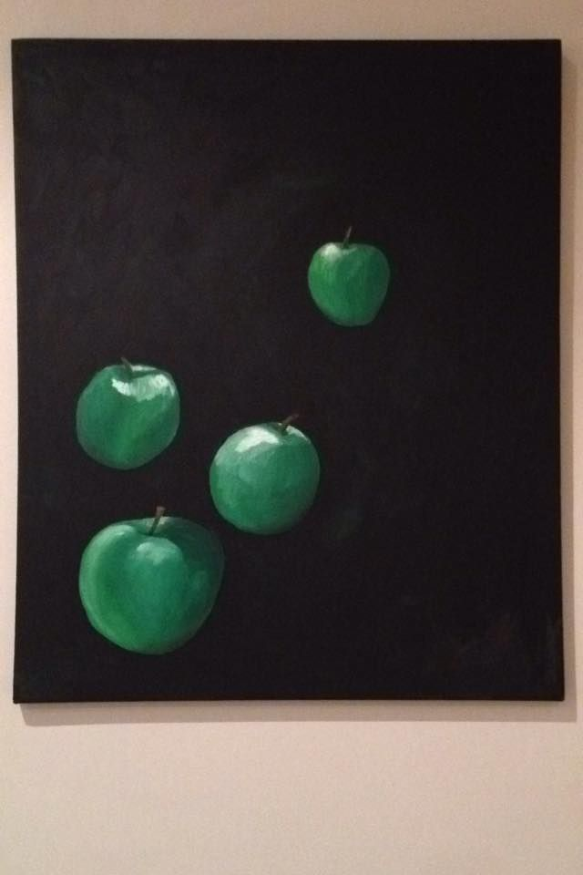 #floating #green #apples by JRN