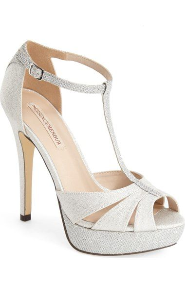 Menbur 'Albendin' T-Strap Sandal (Women) available at #Nordstrom