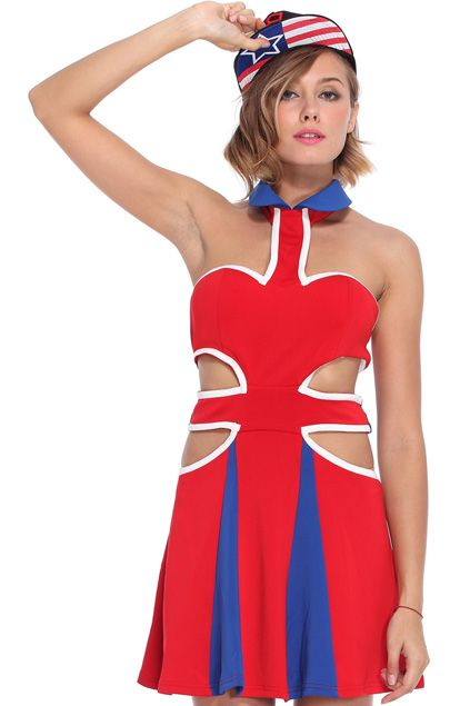 """ENGLAND OH ENGLAND THE COUNTRY SO GREAT / THE LAND THAT'S SO FAIR AND SO TRUE  / THEY'LL NEVER BE ANY COLORS LIKE / THE RED, THE WHITE AND THE BLUE. ////// ROMWE 