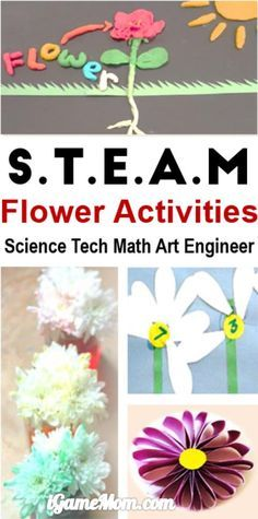 Complete list of flower themed activities for kids