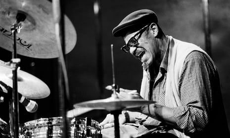 Sunny Murray who played with Cecil Taylor and Albert Ayler. Free-thinking jazz drummer described as 'a conductor of energies.' For many his playing evoked the impressions of restless seas, buffeting winds or the ebbs and flows of feelings (obituary, The Guardian)
