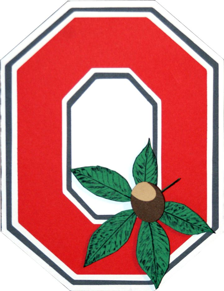 ohio state buckeyes pictures of the logo | Wennie in Wonderland: Ohio State Buckeye Card