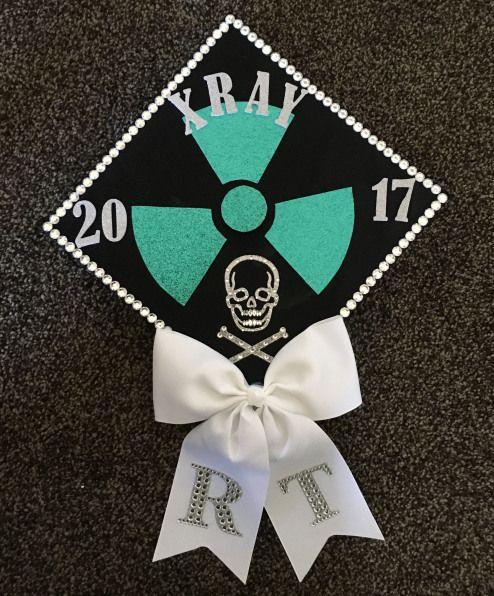 X-ray graduation cap #xray #radtech #radiologictechnologist #gradcap #collegegraduation