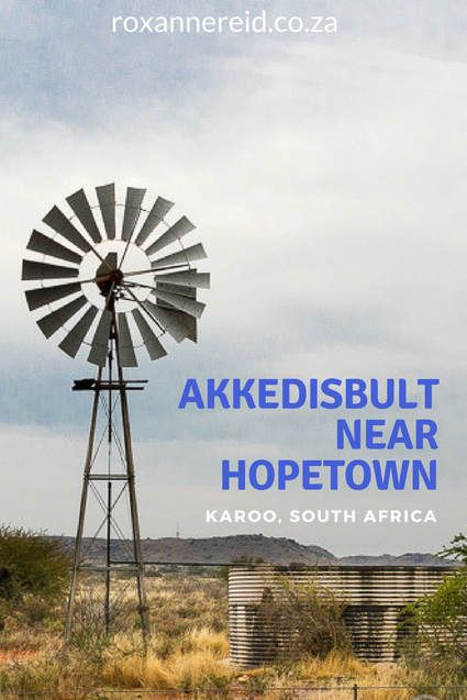 Stay at Akkedisbult cottage on a Karoo farm near Hopetown #SouthAfrica #travel #accommodation