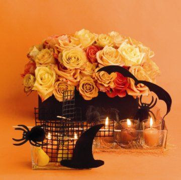 halloween wedding - Halloween Wedding Centerpieces