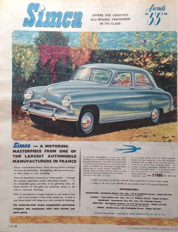 28 best Retro US, Australian Car & Automobilia Ads images on ...